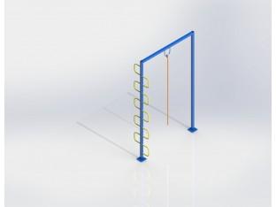 Стійка для каната висока (метал) (СВ 640,1)