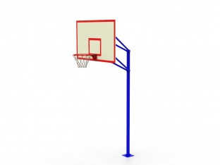 Стенд баскетбольний шкільний №2 (105х180), фанера