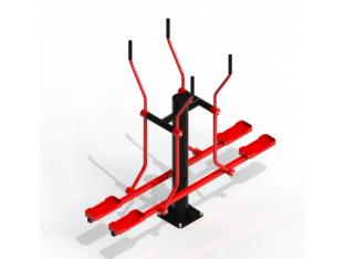 Тренажер лижник подвійний